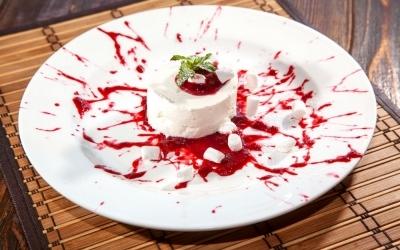 Сливочно-творожный десерт с маршмеллоу