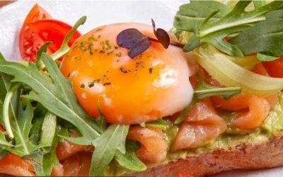 """Шампиньоны запеченные с сыром """"Моцарелла"""" и пудрой пармезана"""